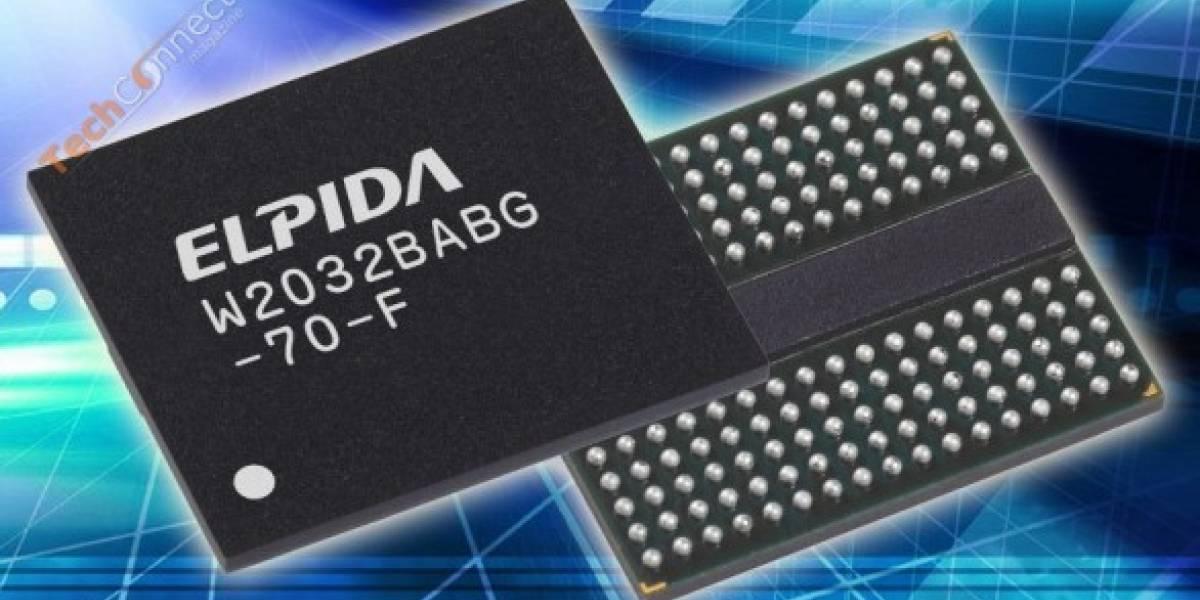Elpida crea su primer chip GDDR5
