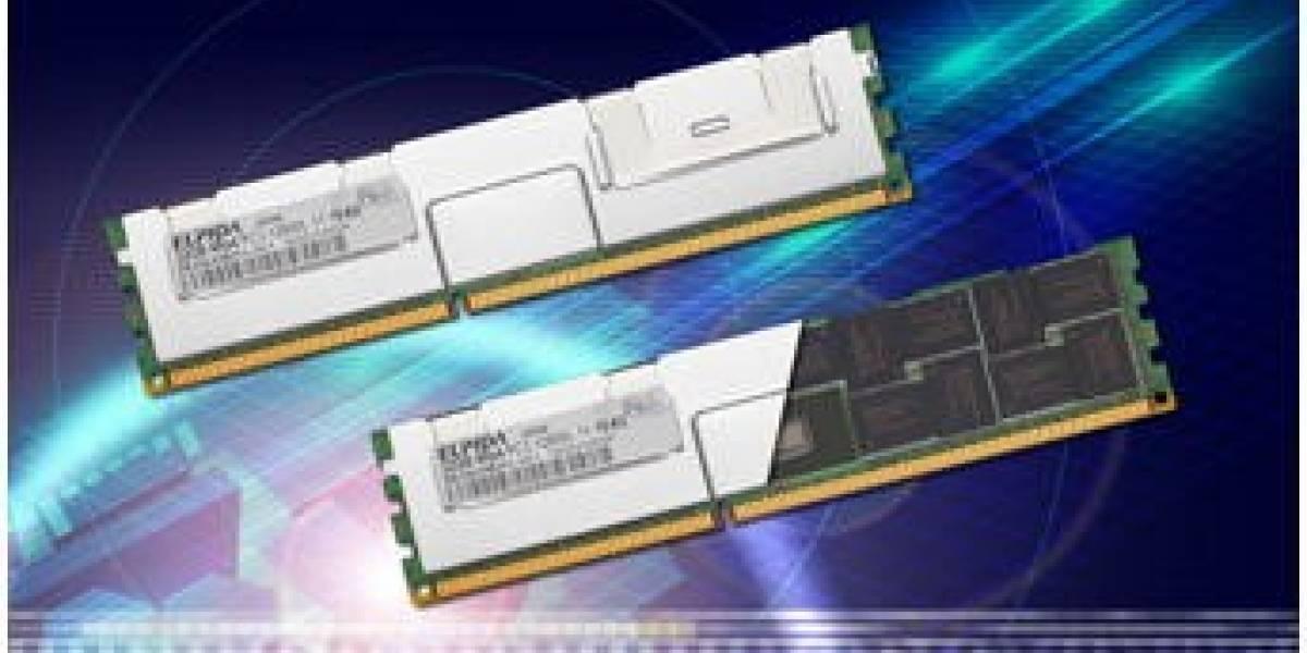Elpida comienza a distribuir módulos de memoria de 32GB