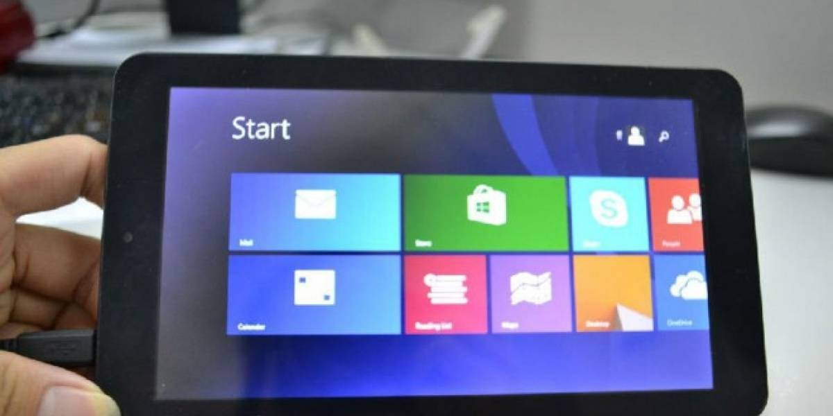 Fabricante chino estrena una tableta con Windows 8.1 a USD$65