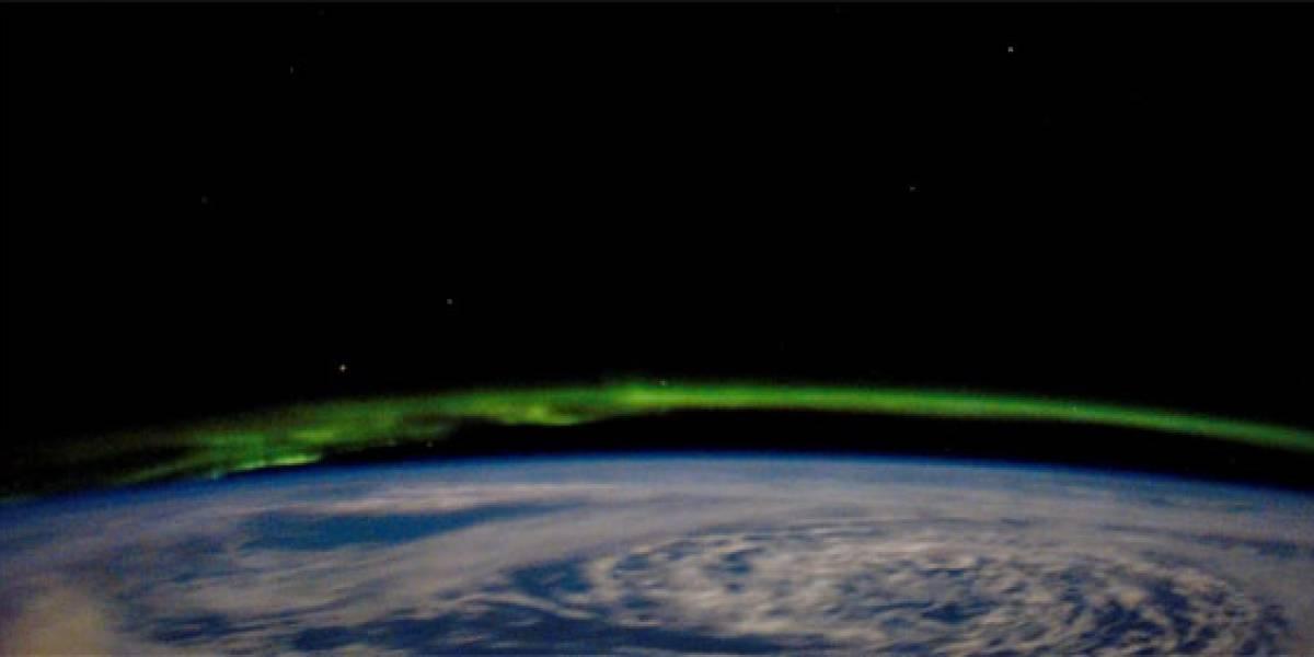 Aurora Borealis vista desde el Endeavour