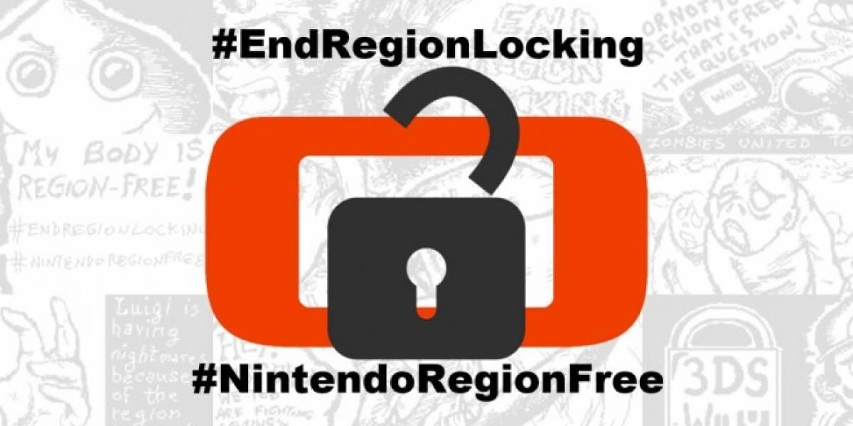 Jugadores piden a Nintendo que elimine el bloqueo regional