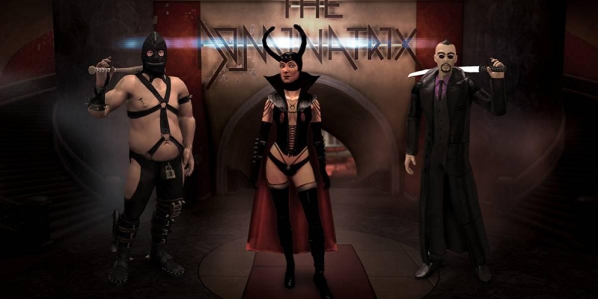 Ya está disponible Enter the Dominatrix, el nuevo DLC de Saints Row IV