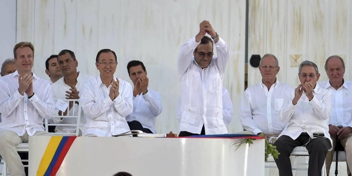 Líder de FARC se registra para la presidencia de Colombia