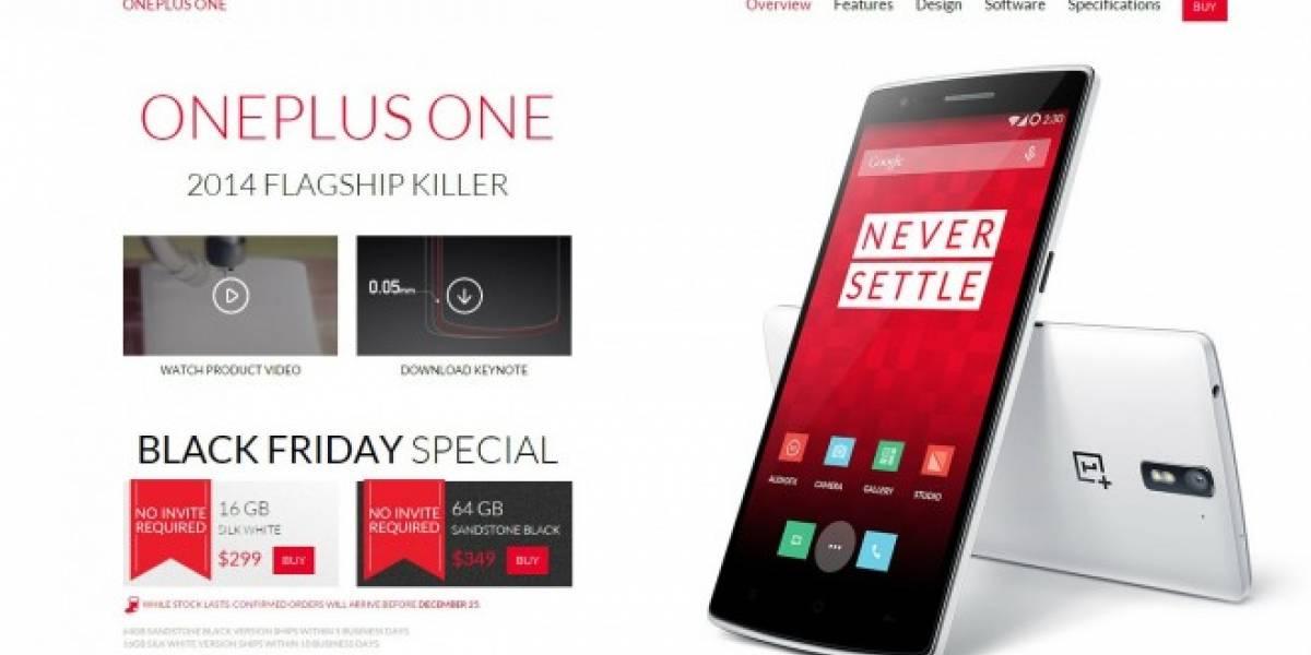 OnePlus One está disponible para comprar sin invitación durante el fin de semana