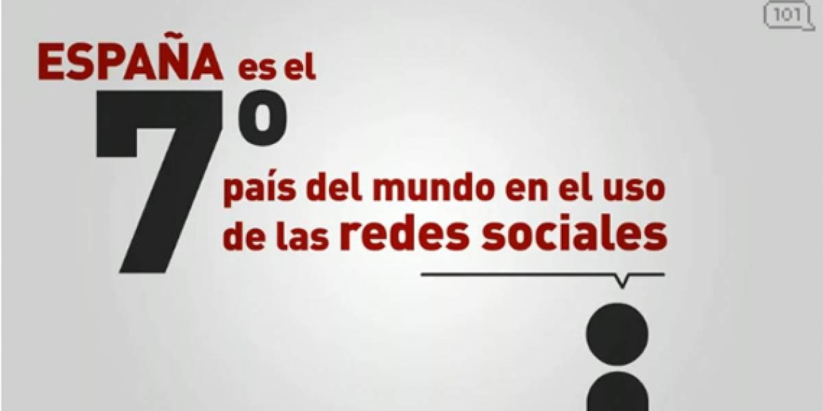 Redes sociales en España y el resto del mundo (Video)