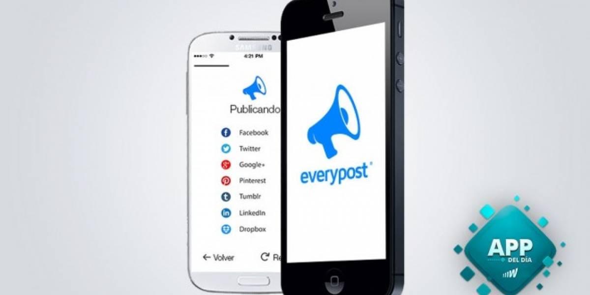 Everypost, una app ideal para los Community Managers [App del Día]
