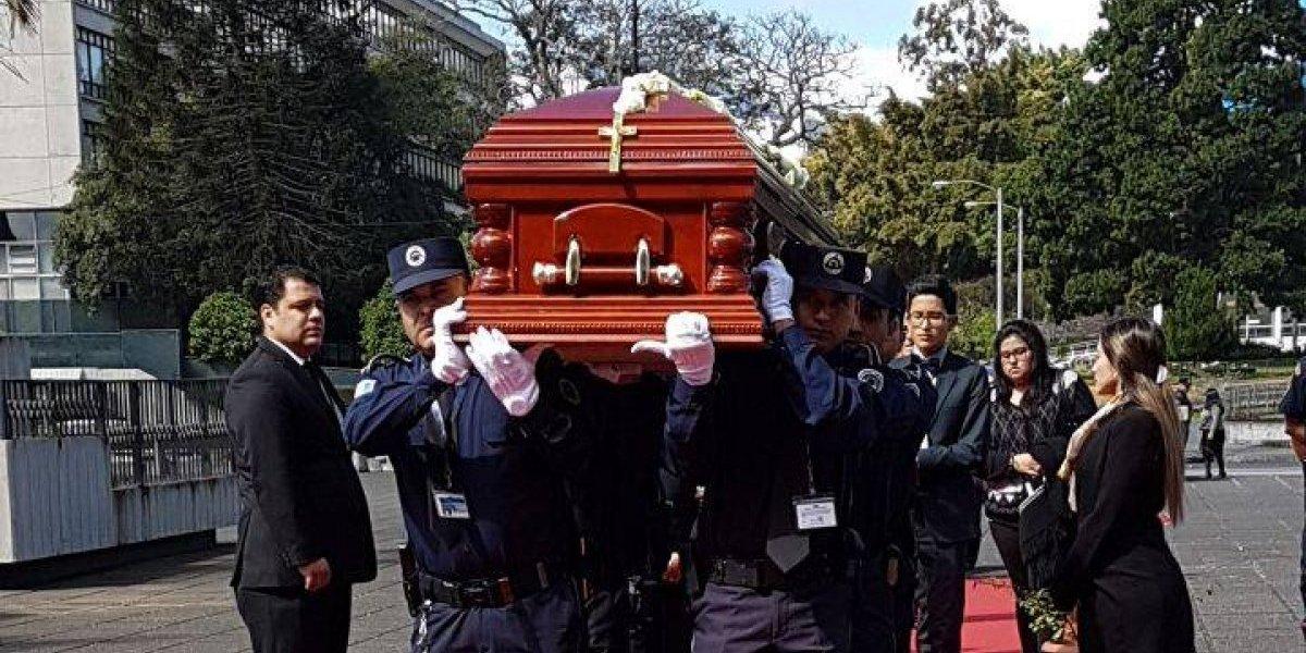 Honras fúnebres para el expresidente de la Corte José Arturo Sierra González