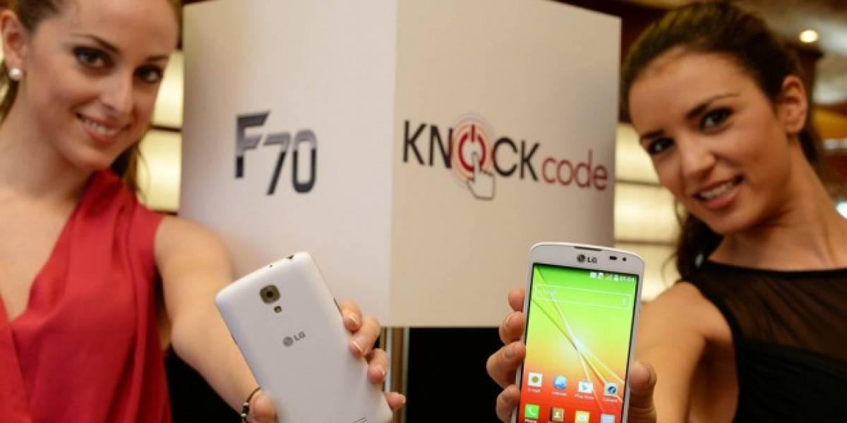 LG lanzó los smartphones F70 y F90 en #MWC14