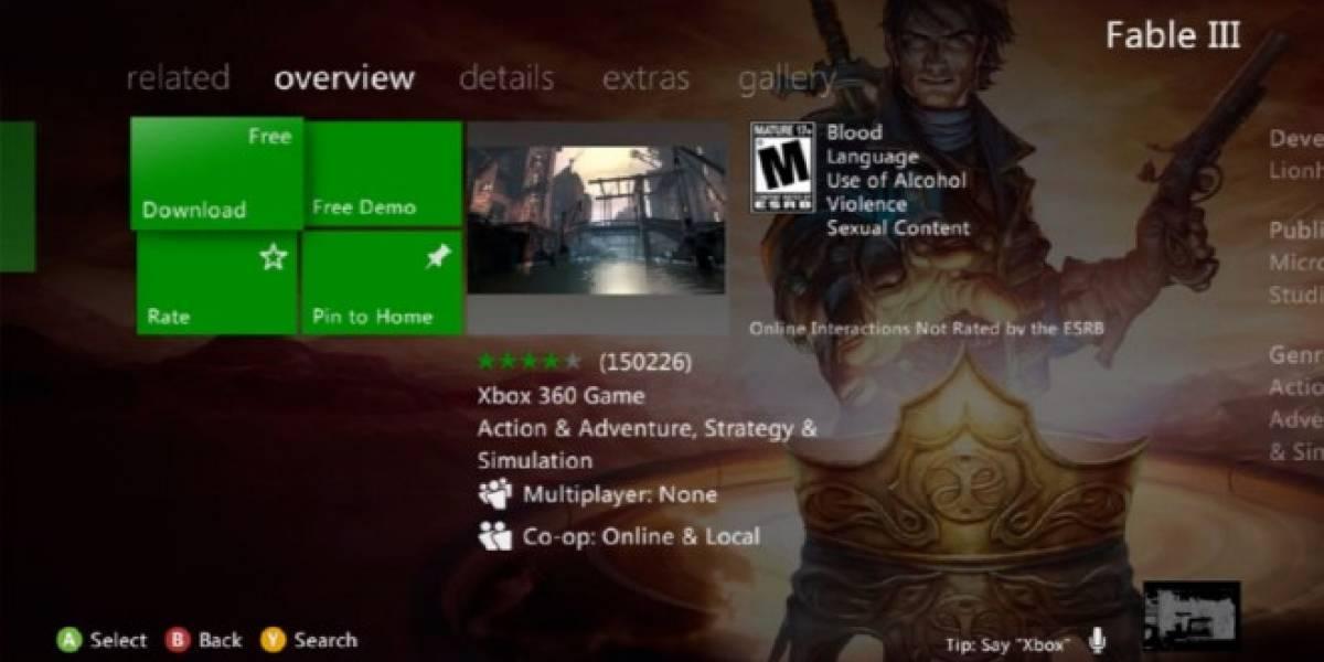 Fable III está gratis en Xbox Live por alguna razón previa al #E3