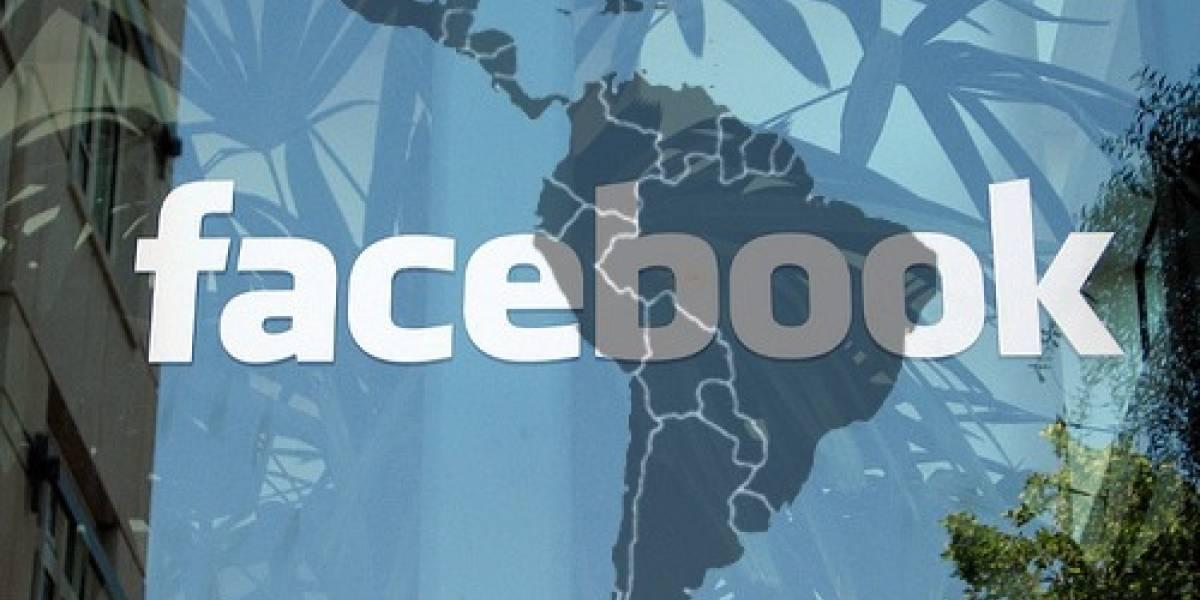 Chile es el país de mayor crecimiento en Facebook a nivel mundial