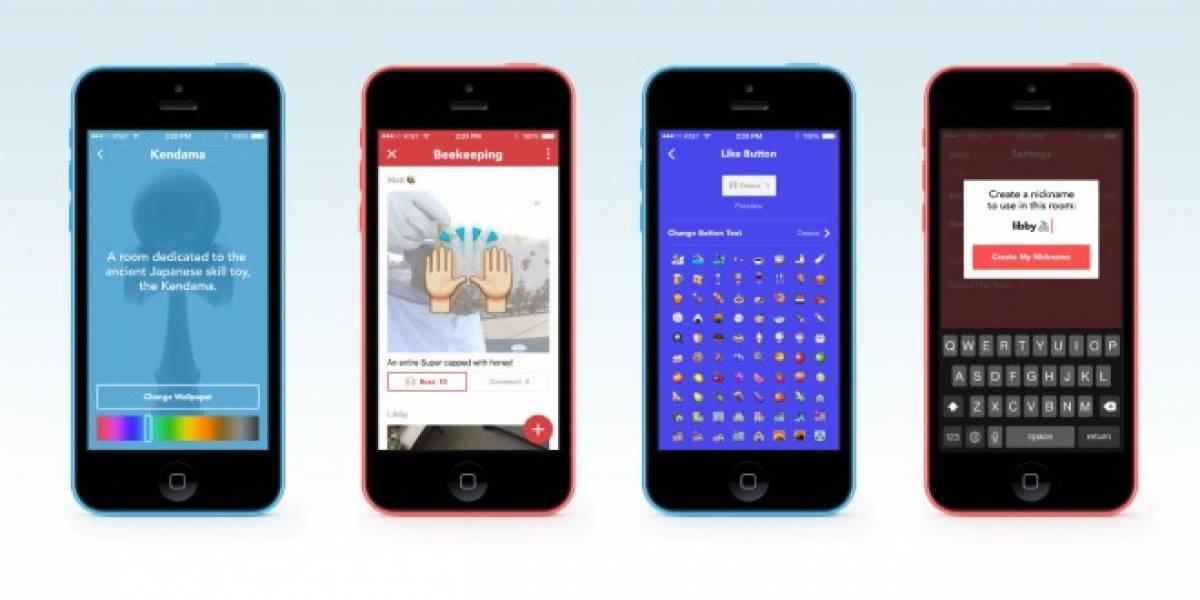 Facebook Rooms intenta recrear foros en tu móvil