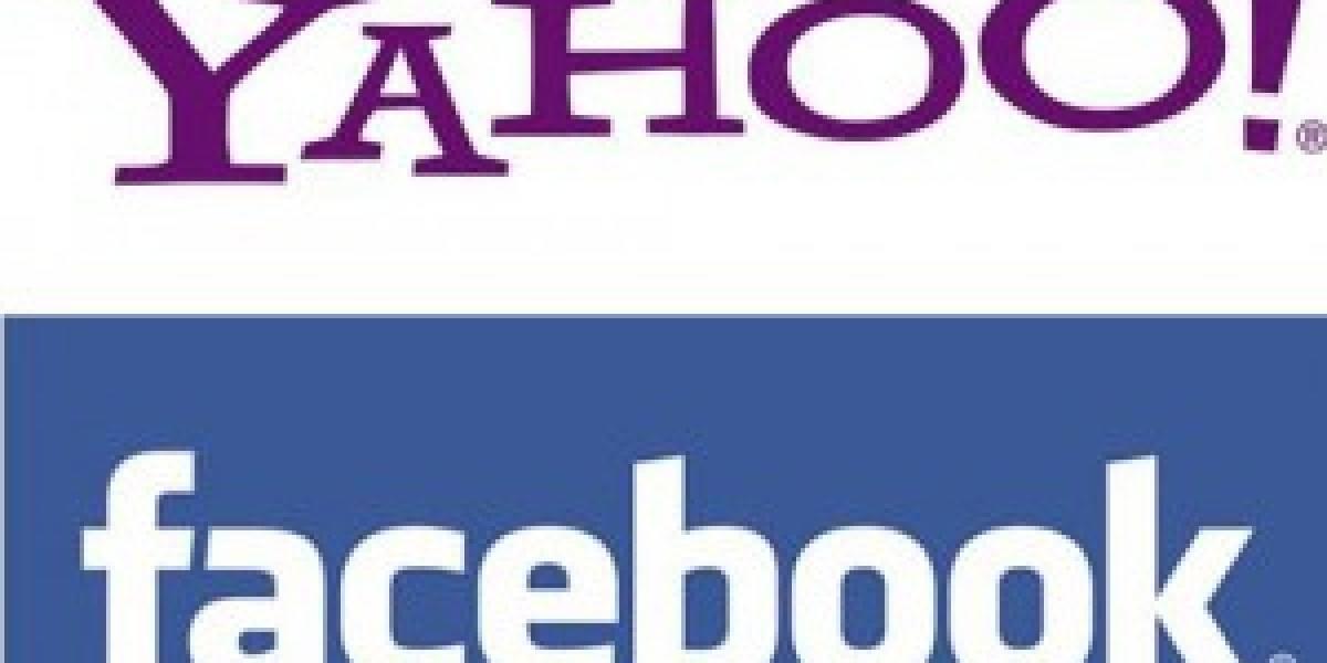 Yahoo integra búsquedas y actualizaciones de Facebook