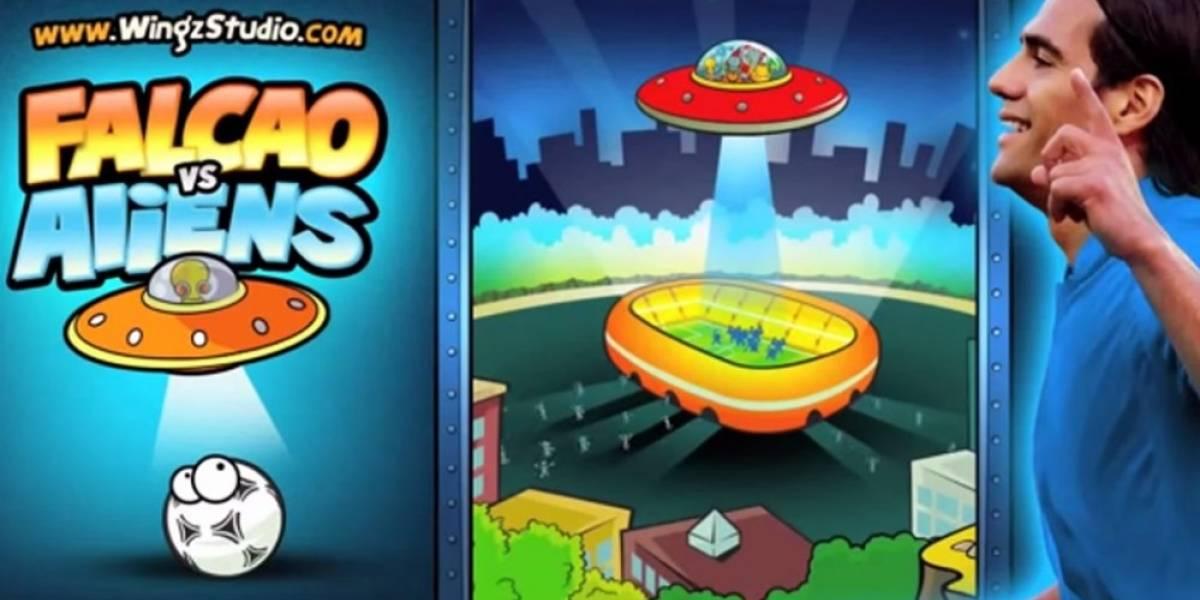 Radamel Falcao combate extraterrestres en este juego para móviles