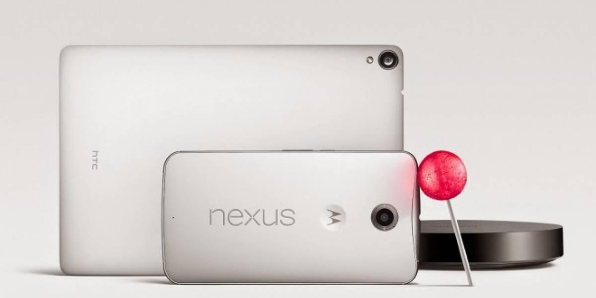 Las terminales Nexus tendrán Android 5.0 Lollipop antes que nadie