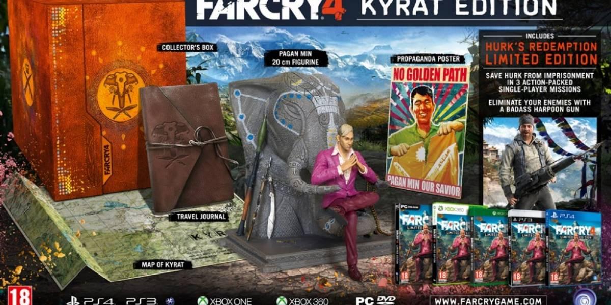 Se anunció la edición de colección de Far Cry 4