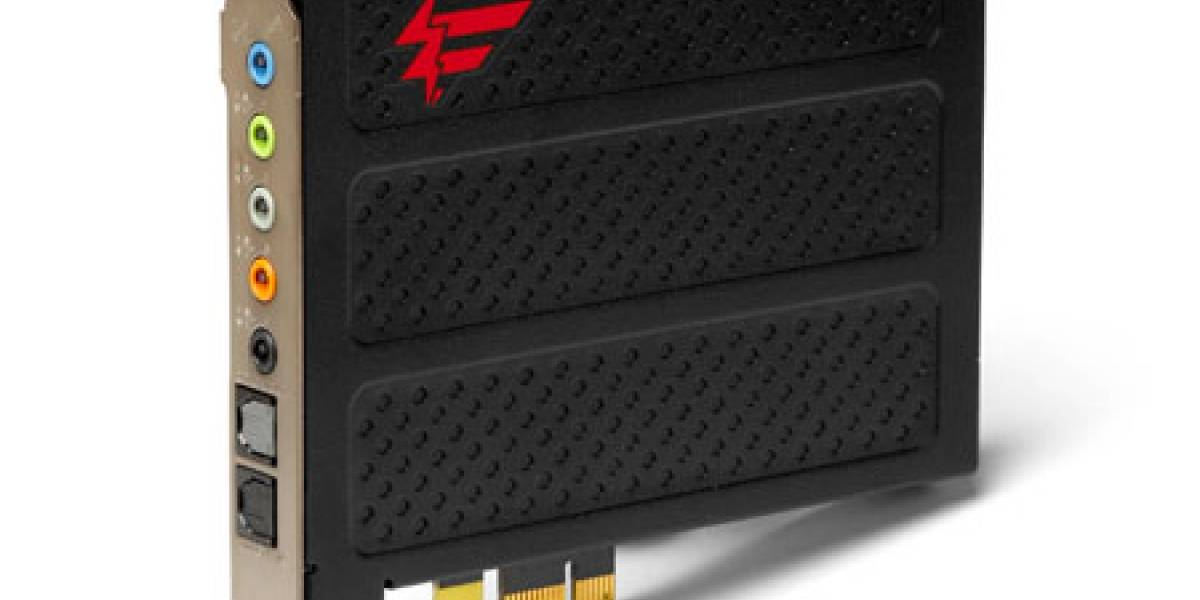 X-Fi® Titanium Fatal1ty, audio para jugadores