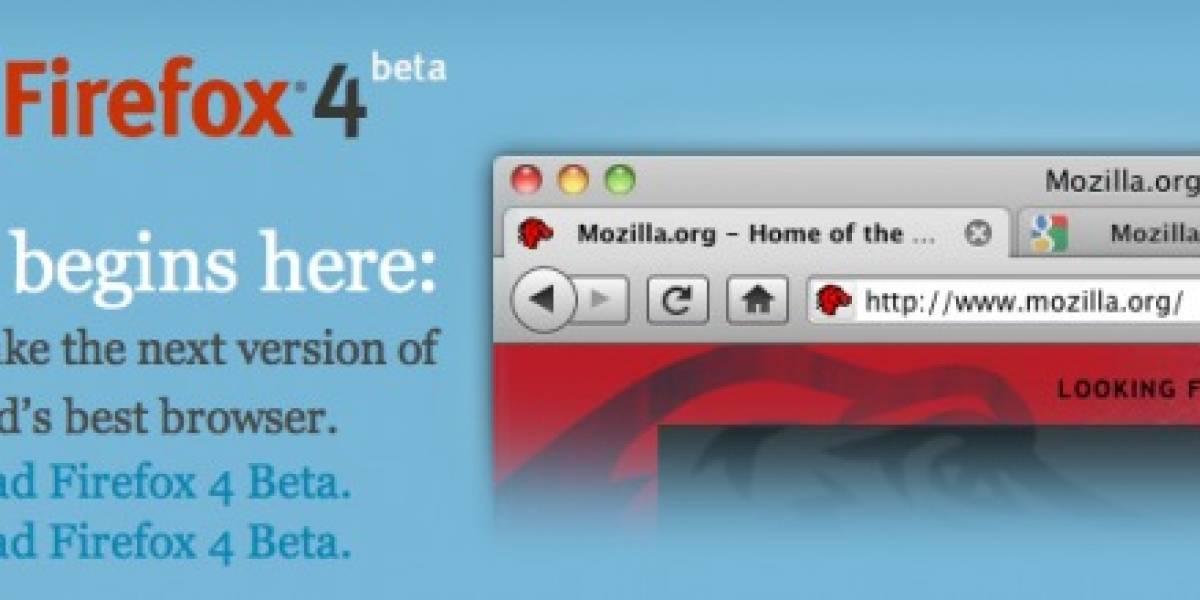 Firefox 4 se actualizará automática y silenciosamente