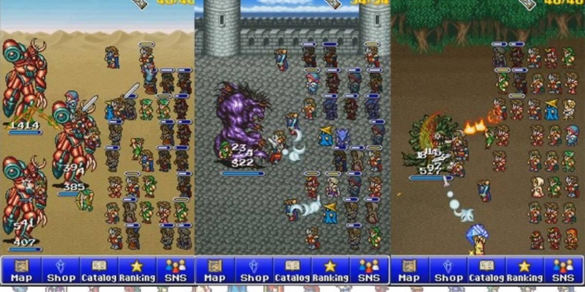 Así luce el nuevo Final Fantasy para iOS