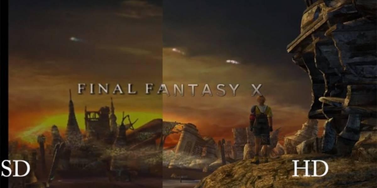 Mira este video comparativo de Final Fantasy X y X-2 HD Remaster