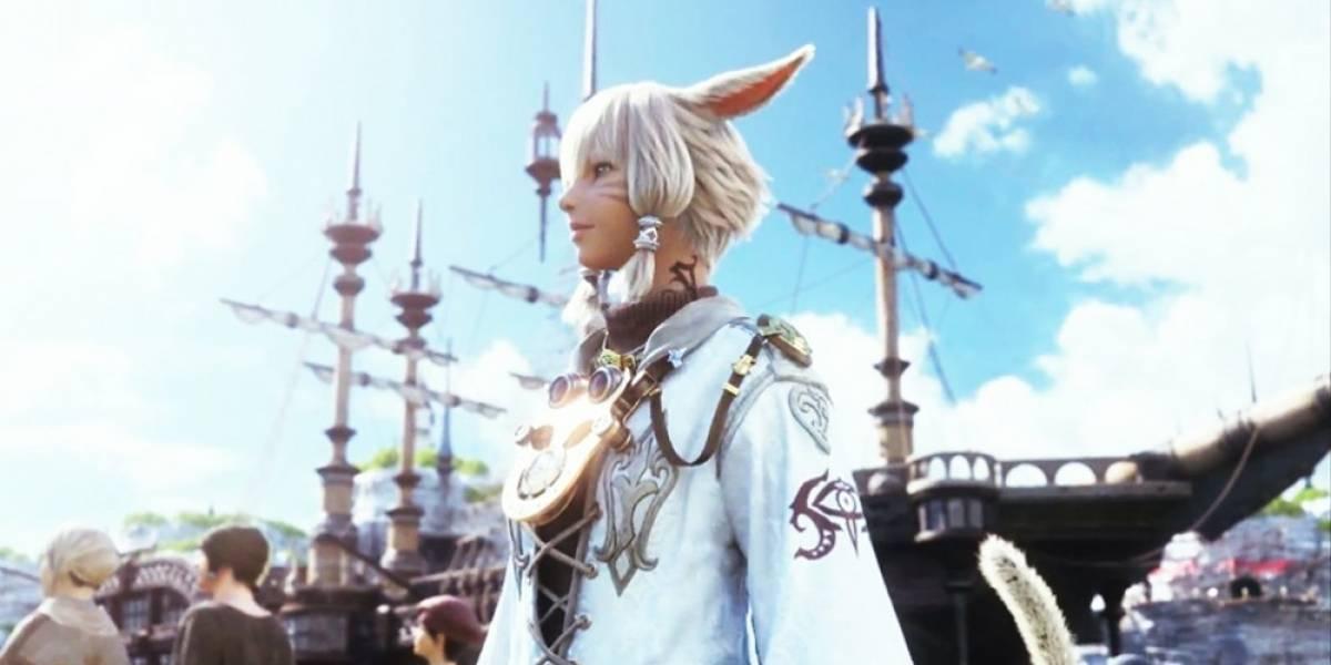 Square Enix fecha llegada de FF XIV: A Realm Reborn para PS4