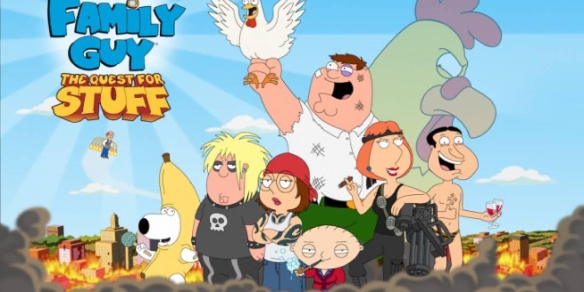 Serie animada Padre de familia ya tiene videojuego para móviles