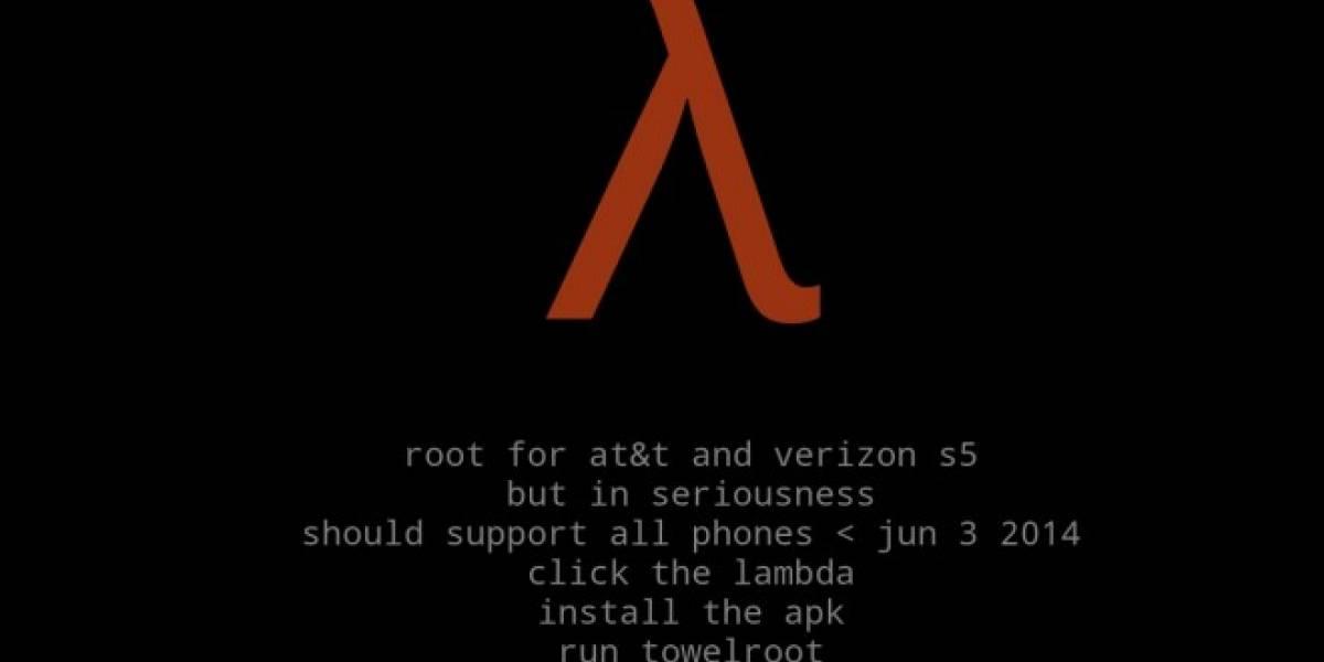 Geohot lanza aplicación que da acceso Root a la mayoría de los dispositivos Android