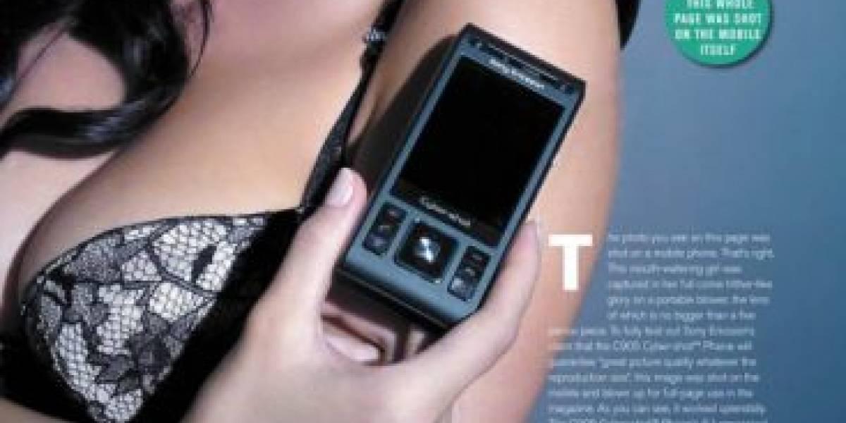 Sony Ericsson quiere que compremos lencería en vez del C905