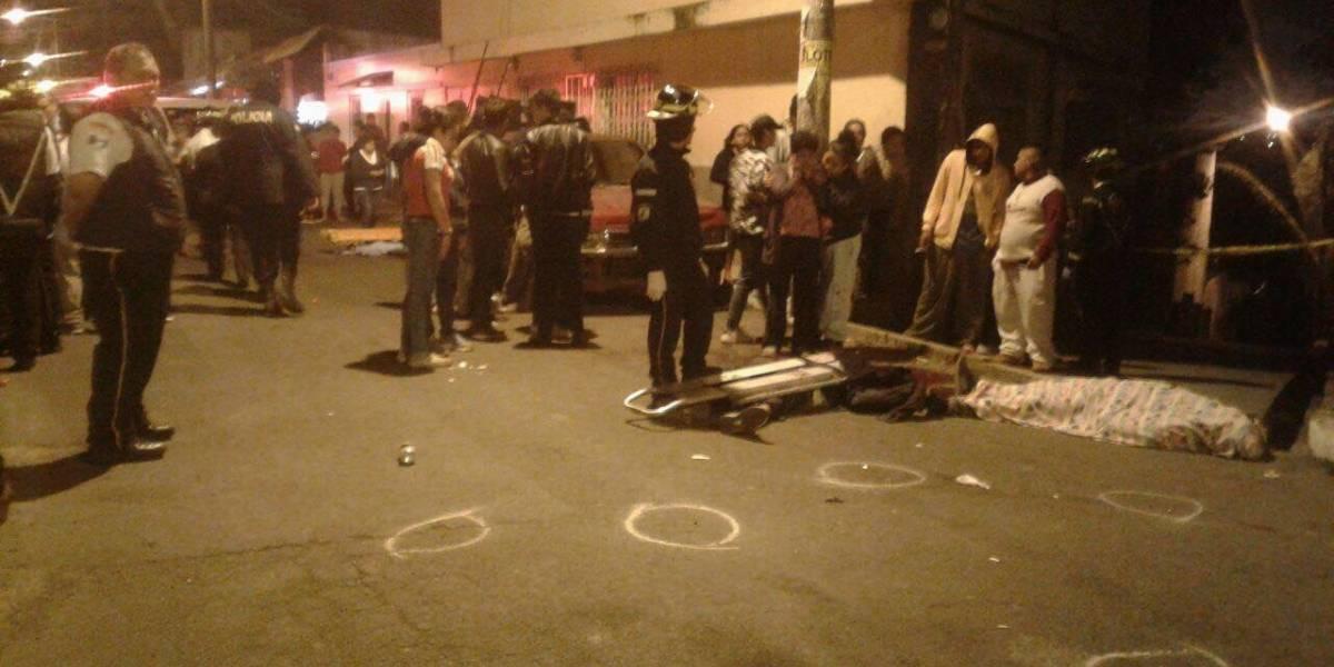 Fiesta termina en masacre en la colonia Sabana Arriba, en la zona 17