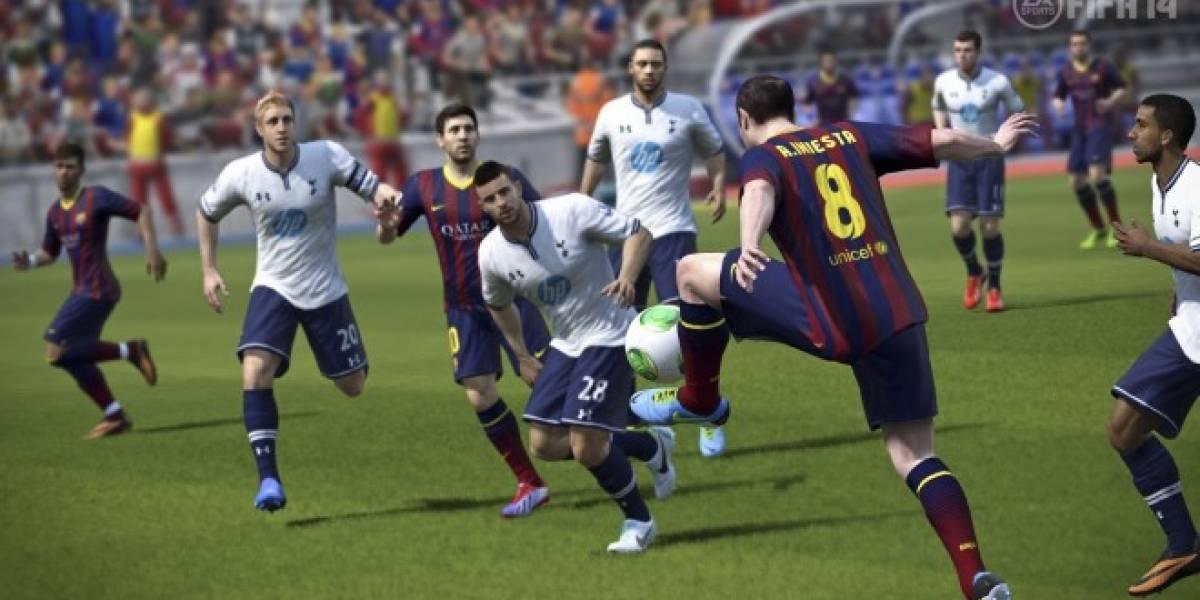 FIFA 14 también estrena demo en Origin y Xbox Live