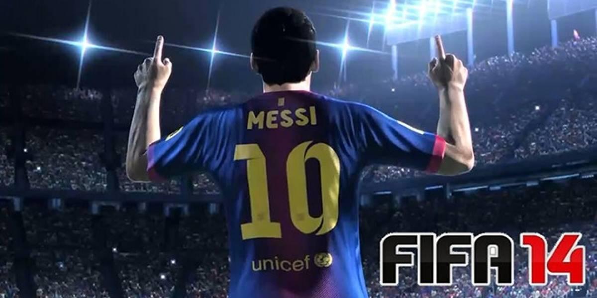 FIFA 14 recibe fecha de salida