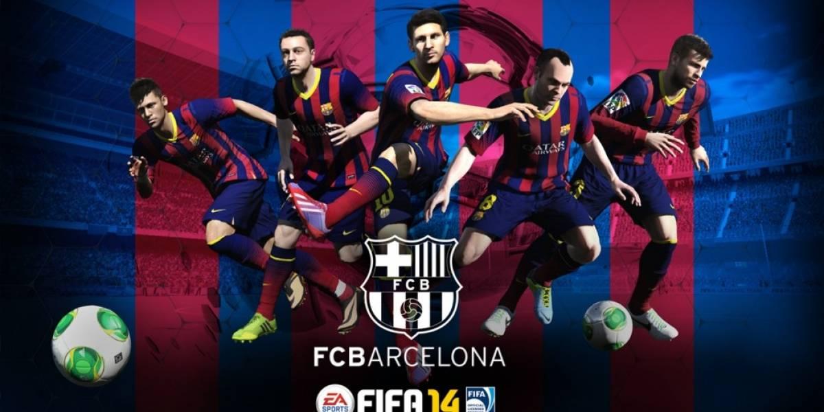 El FC Barcelona se une a EA como socio oficial de FIFA 14