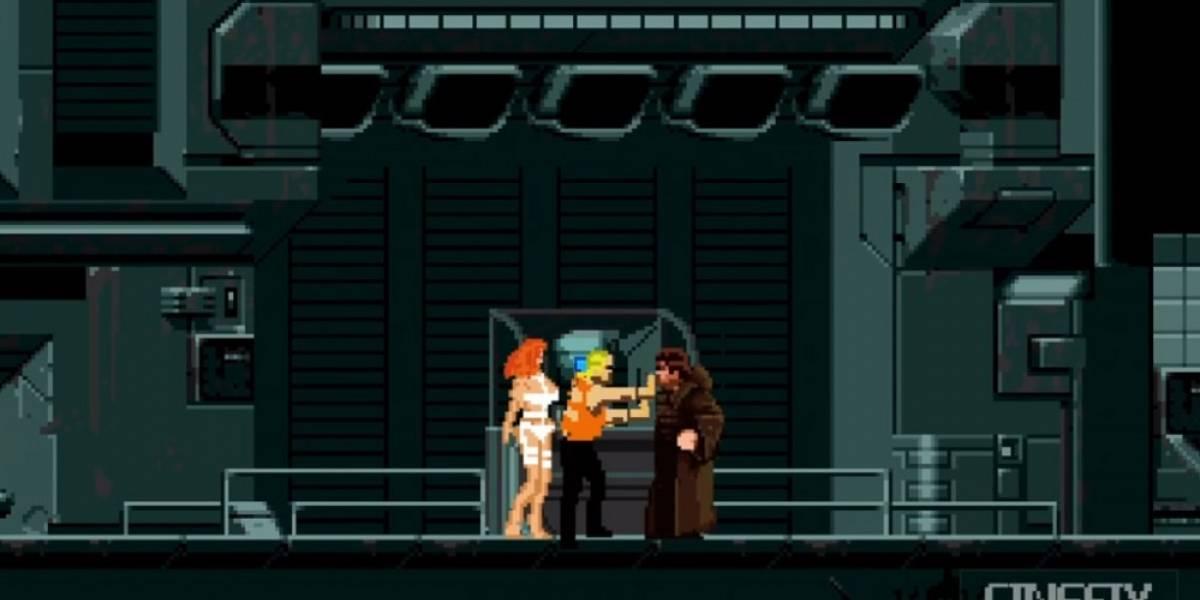 El Quinto Elemento reimaginado como juego de 8-bit
