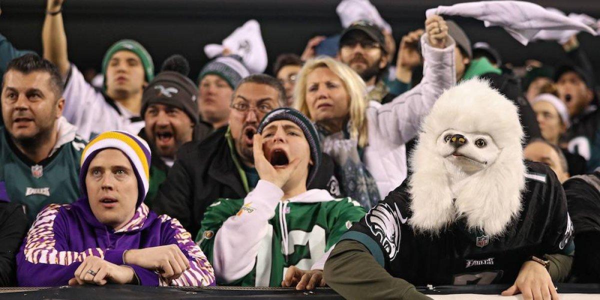 Ambiente hostil en Minnesota para jugadores y seguidores de Eagles
