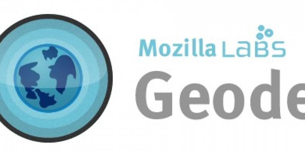 Mozilla presenta oficialmente a Geode