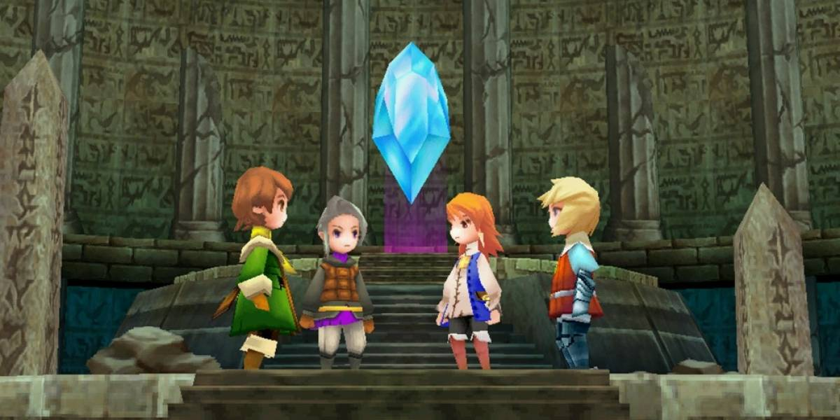 Final Fantasy III 3D ya disponible para Windows Phone