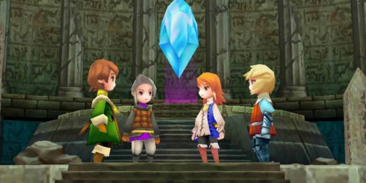 Final Fantasy III llegará a Steam próximamente