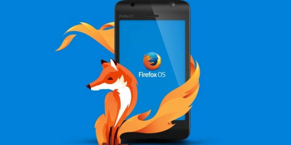 Firefox OS se actualiza con importantes mejoras
