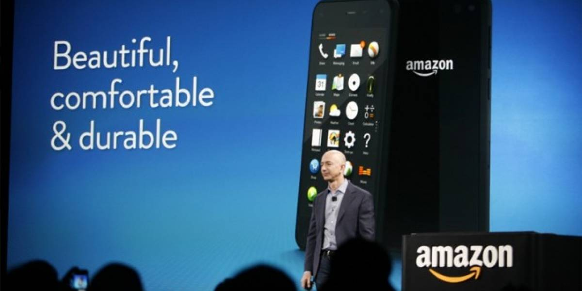 Amazon lanza el Fire Phone, su primer smartphone