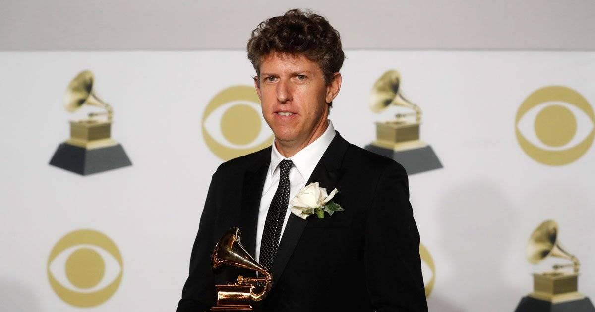 Greg Kurstin, vencedor do Grammy na categoria Produtor do Ano REUTERS/Carlo Allegri
