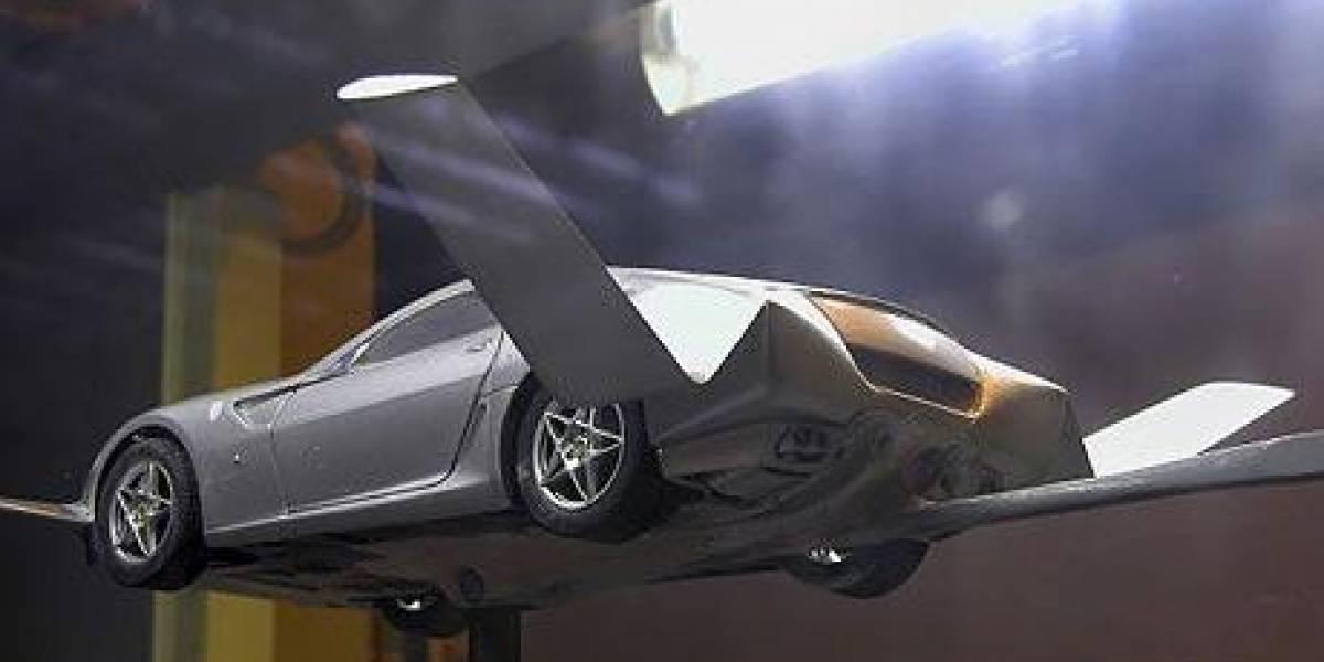 Ferrari 599 GTB volador: Los diseñadores fuman de la buena