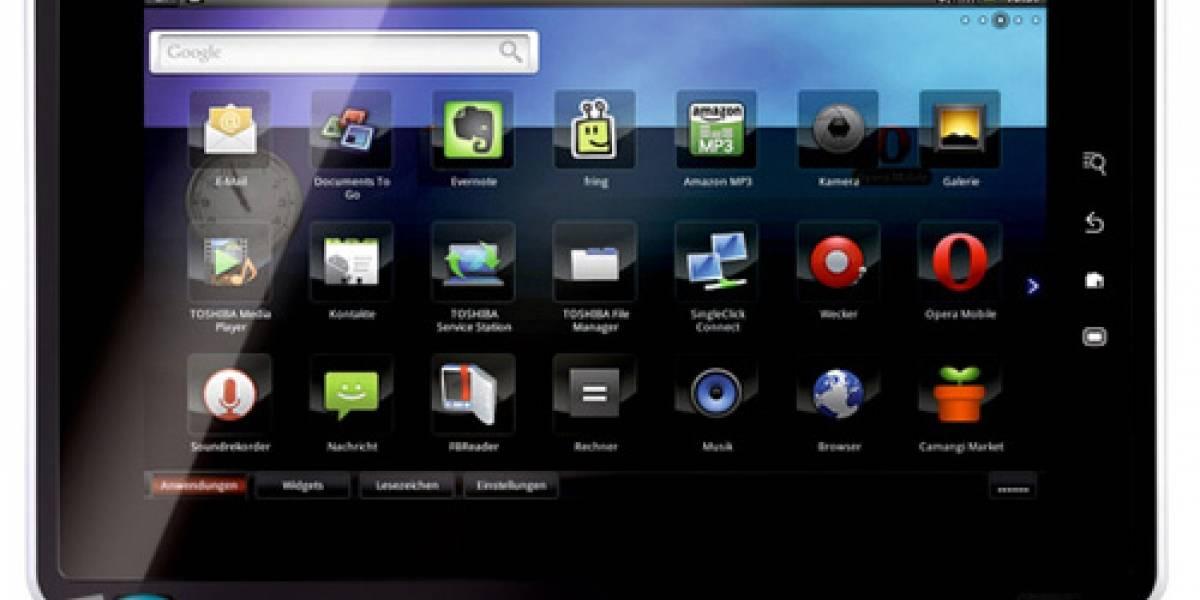 Folio 100: el tablet que Toshiba lanzará la próxima semana