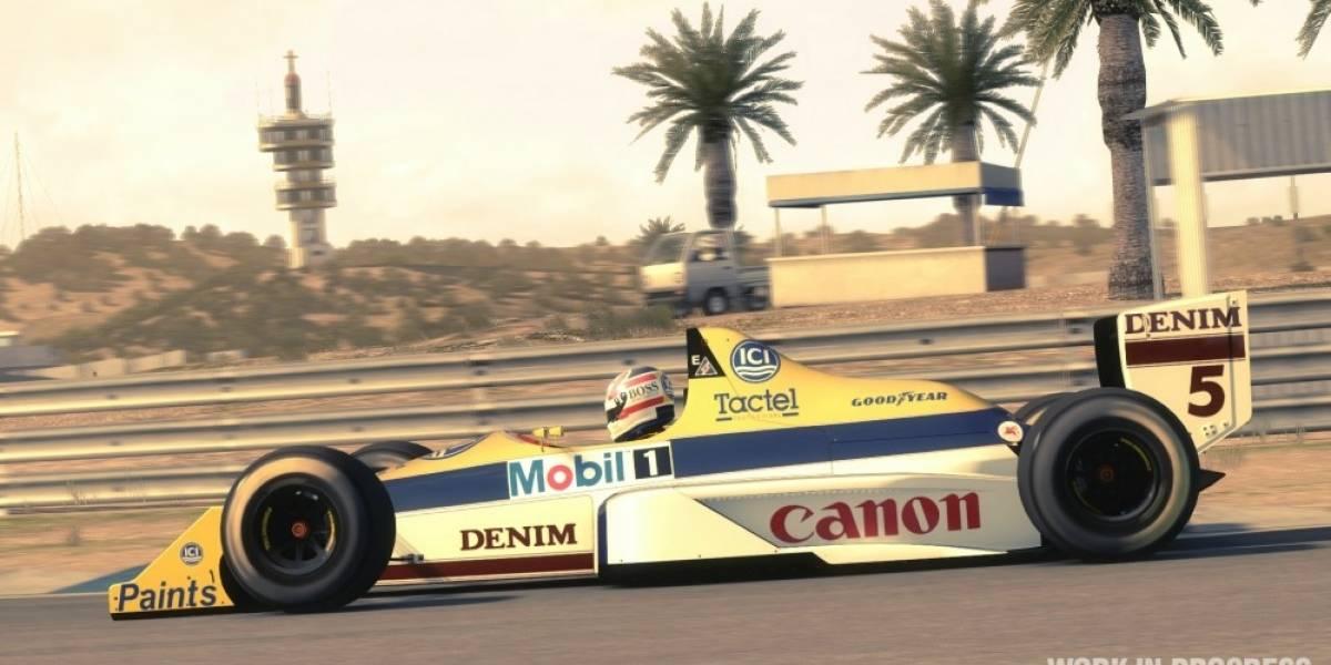 Se anuncian los detalles del contenido clásico de F1 2013