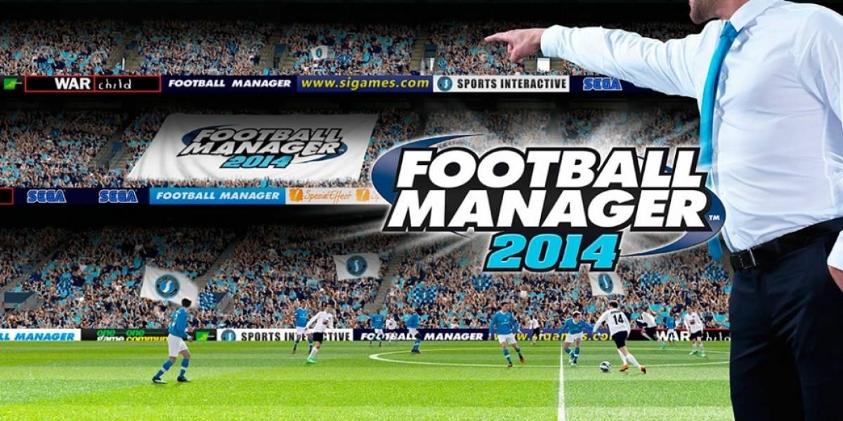 Football Manager 2014 está listo para que dirijas en la próxima temporada
