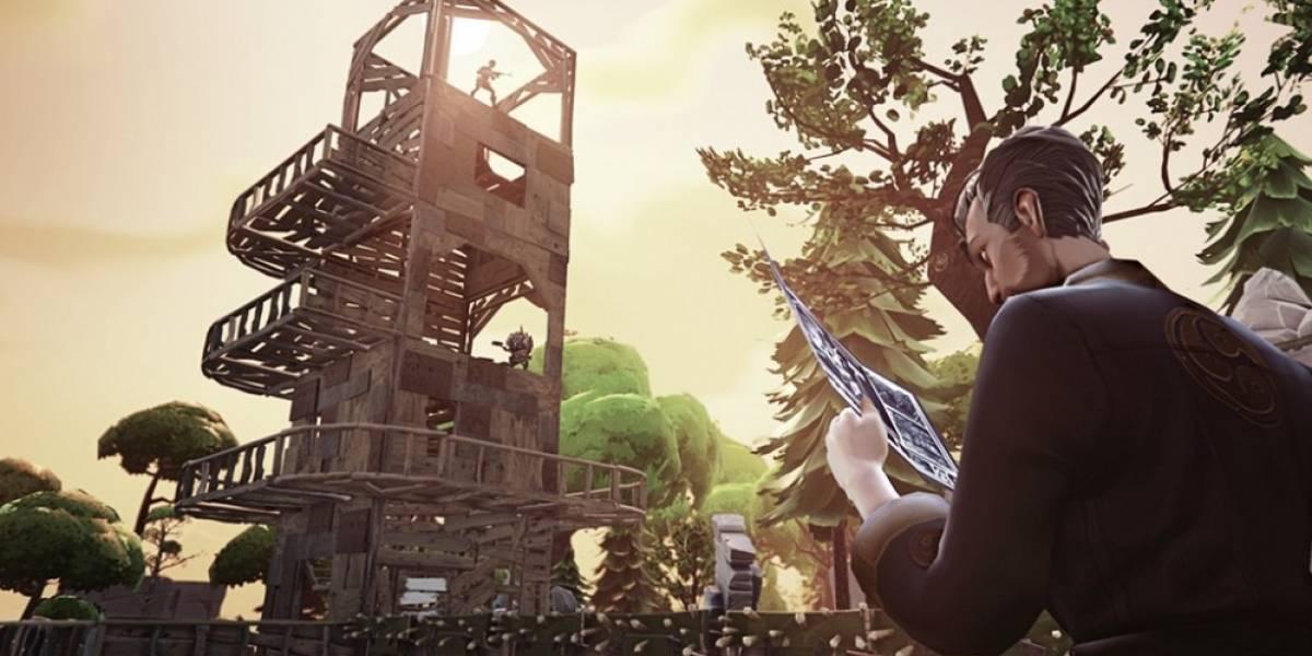 Así se juega Fortnite, lo nuevo de Epic Games