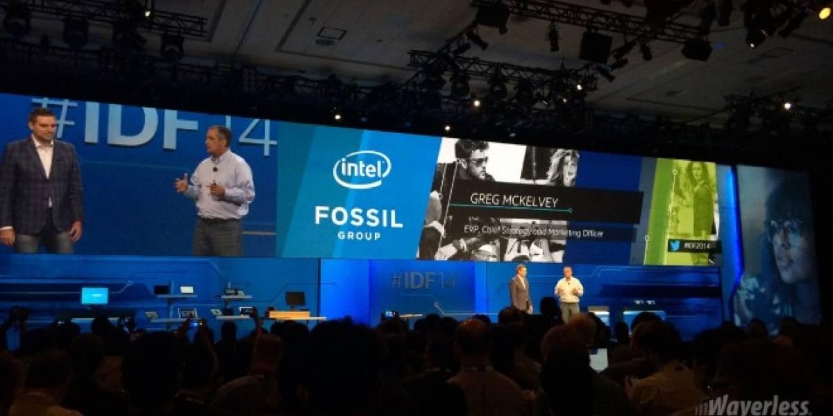 Intel firma alianza con Fossil para producir vestibles #IDF14