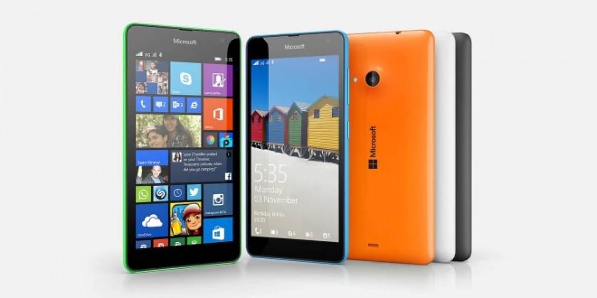 Microsoft lanza en Chile el nuevo Lumia 535