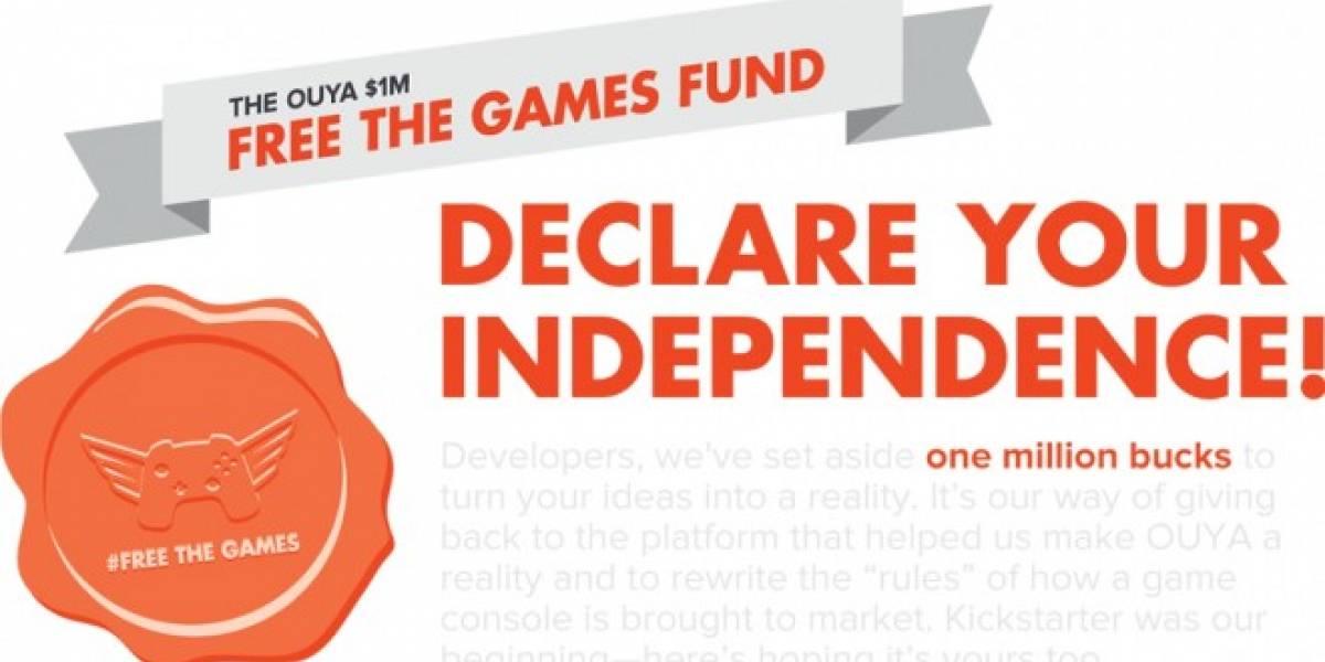 Ouya crea fondo de USD $1 millón para apoyar a desarrolladores en Kickstarter