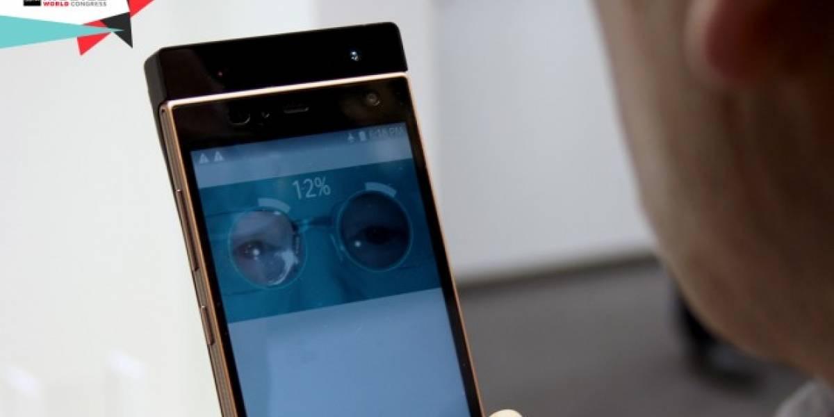Fujitsu ha creado un sistema para desbloquear tu móvil con tu iris #MWC15