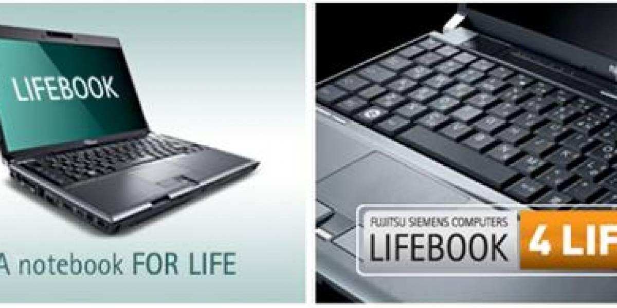 Fujitsu LifeBook4Life renueva tu notebook cada tres años