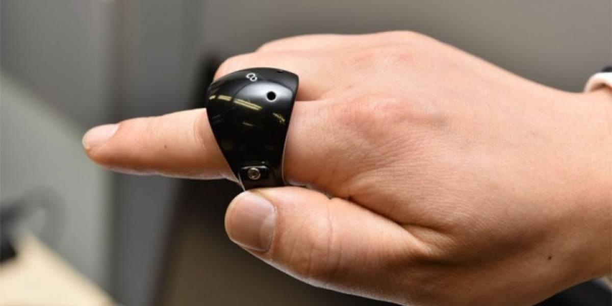 Fujitsu lanza un anillo para escribir en el aire